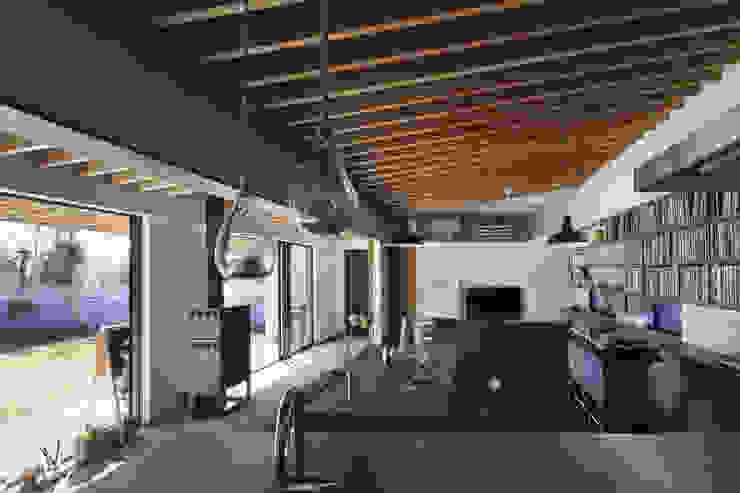 根來宏典建築研究所 ห้องทานข้าว ไม้ Wood effect