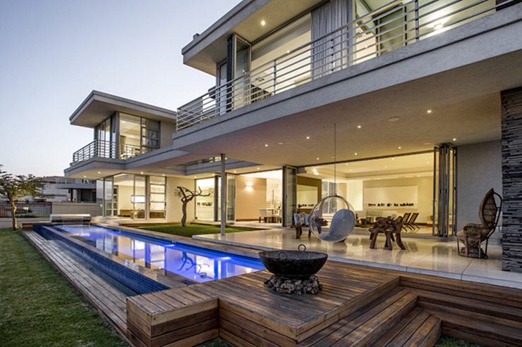 Residence Naidoo FRANCOIS MARAIS ARCHITECTS Pool
