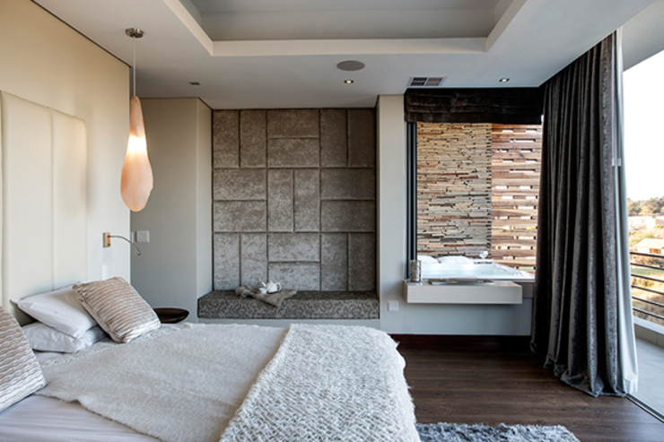 Residence Naidoo:  Bedroom by FRANCOIS MARAIS ARCHITECTS, Modern