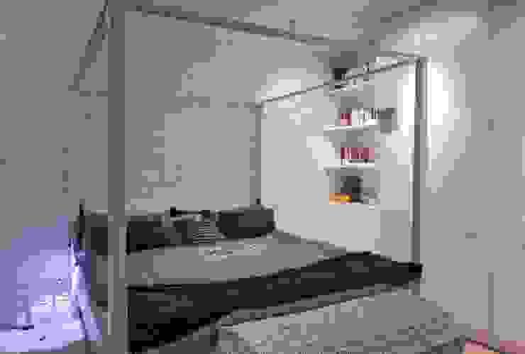 Soft Loft Nowoczesna sypialnia od Perfect Space Nowoczesny