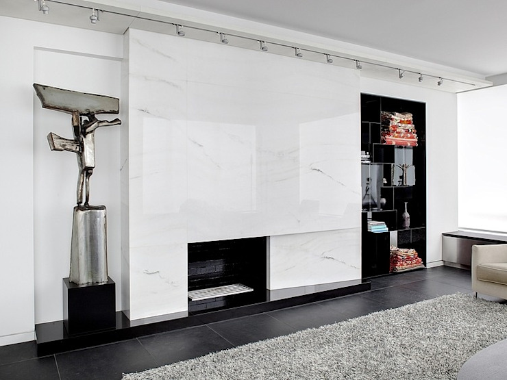 Minimalistische Wohnzimmer von ALDENA Minimalistisch