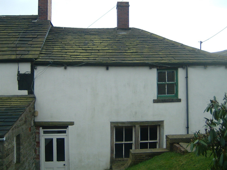 The existing cottage before conversion Farrar Bamforth Associates Ltd