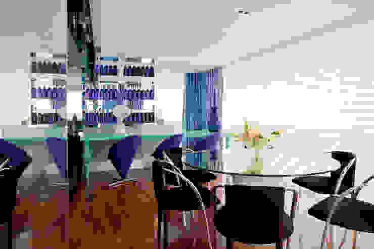 Projeto Brunete Fraccaroli Salas de jantar ecléticas por Brunete Fraccaroli Arquitetura e Interiores Eclético