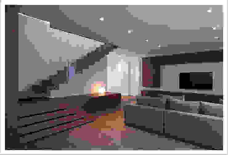 Modern living room by ALDENA Modern