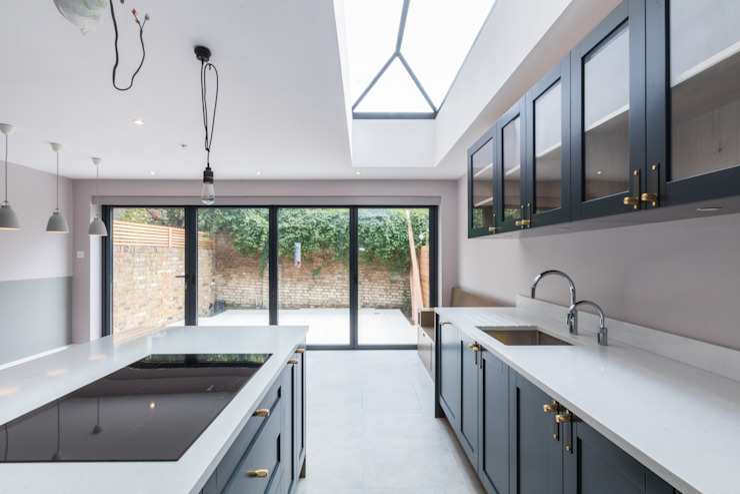 Double Storey Extension, Clapham SW11 Modern kitchen by TOTUS Modern