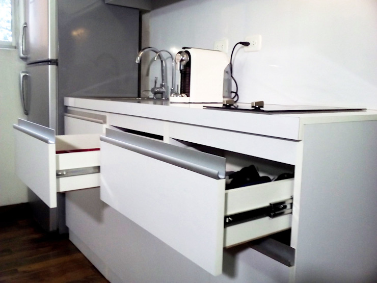 Kitchen by Grupo Creativo DF, C.A., Minimalist MDF