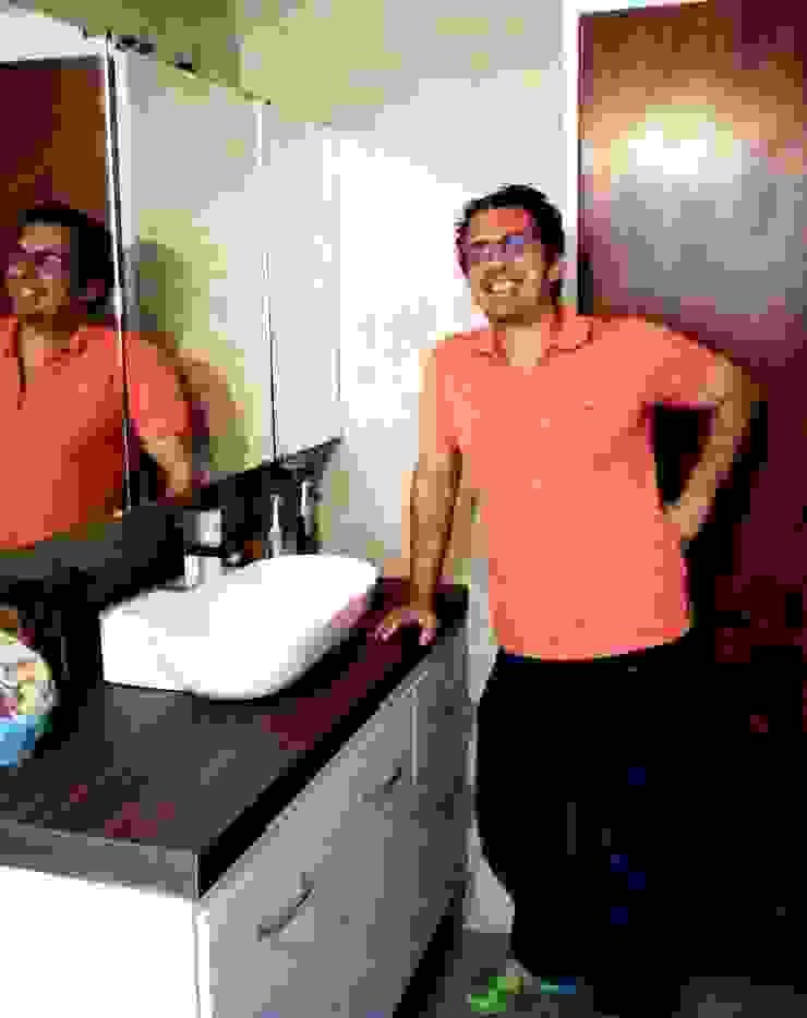 Grupo Creativo DF, C.A. ห้องน้ำสุขภัณฑ์ แผ่น MDF White