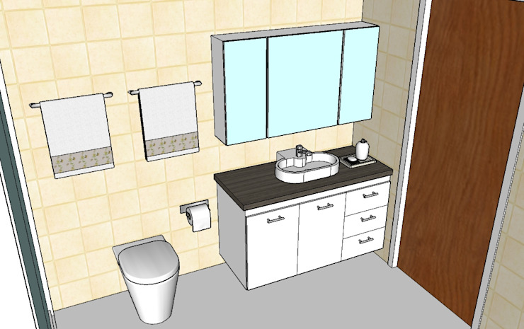 Grupo Creativo DF, C.A. BathroomToilets MDF White