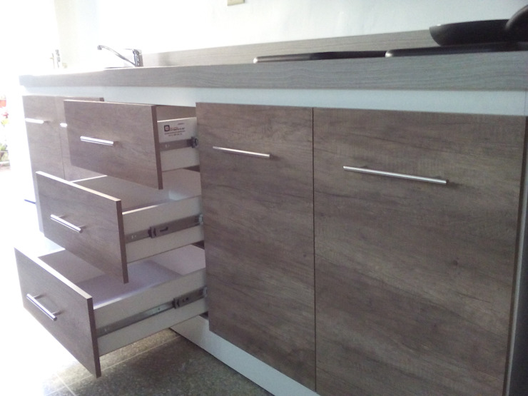Grupo Creativo DF, C.A. KitchenStorage MDF Wood effect