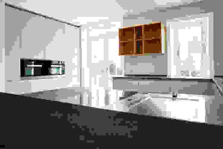 SALLIER WOHNEN SYLT Modern kitchen Wood-Plastic Composite White