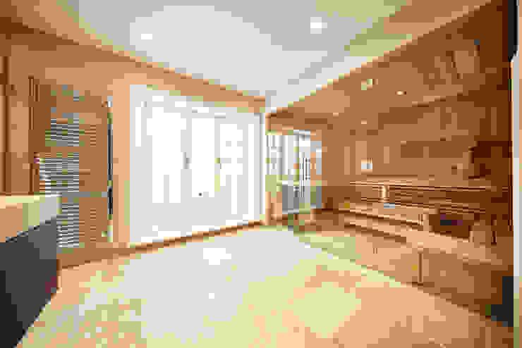 SALLIER WOHNEN SYLT Modern Spa Sandstone Beige