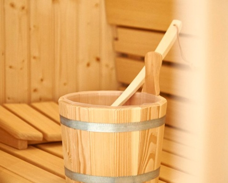SALLIER WOHNEN SYLT Modern spa Wood Beige