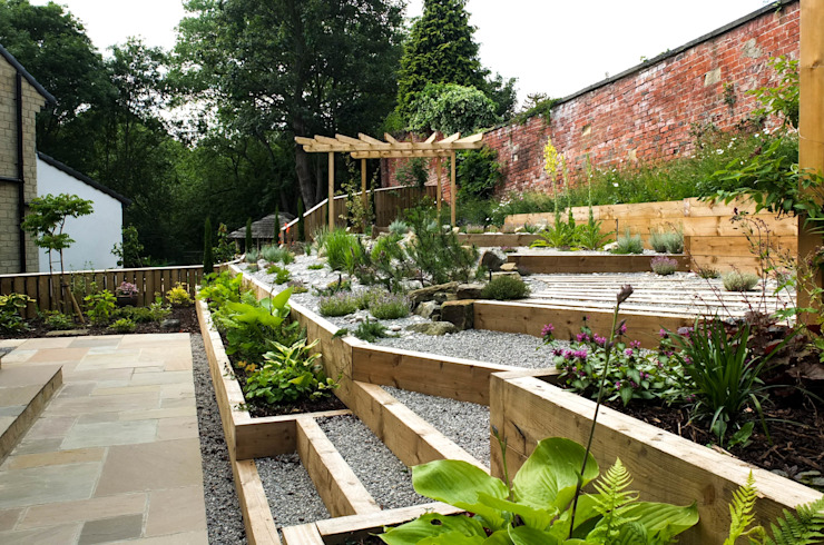 Projekty,  Ogród zaprojektowane przez Yorkshire Gardens, Nowoczesny