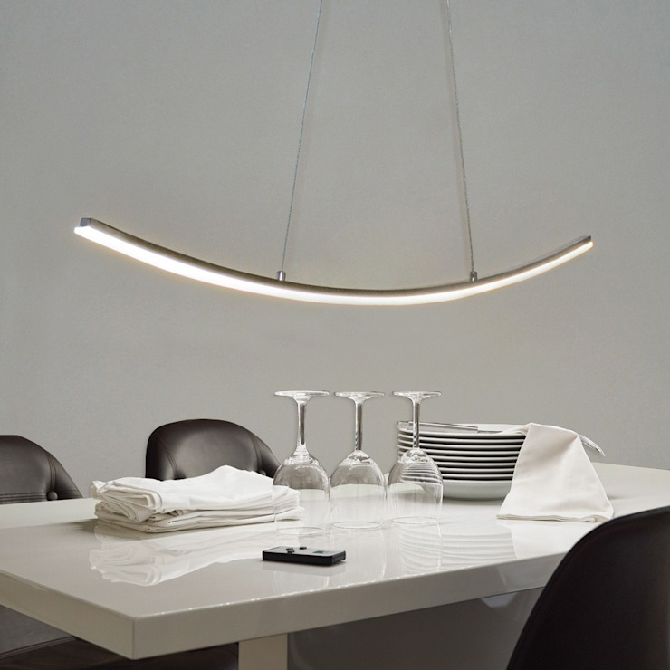 Dining room by Licht-Design Skapetze GmbH & Co. KG
