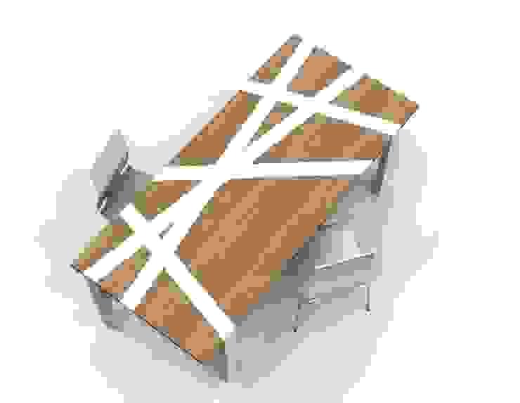 Tavolo Nest di Nyda Design - Nicola D'Alessandro architetto Moderno
