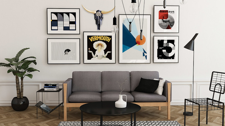 Living room by homify, Scandinavian