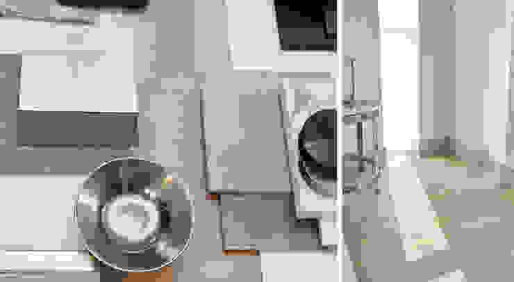 GUEST BEDROOM COLOUR PALETTE Modern style bedroom by Landmass London Modern