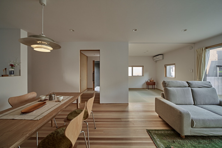 Comedores de estilo minimalista de toki Architect design office Minimalista