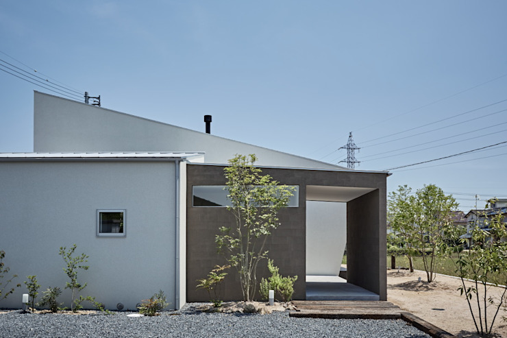 Casas de estilo moderno de toki Architect design office Moderno