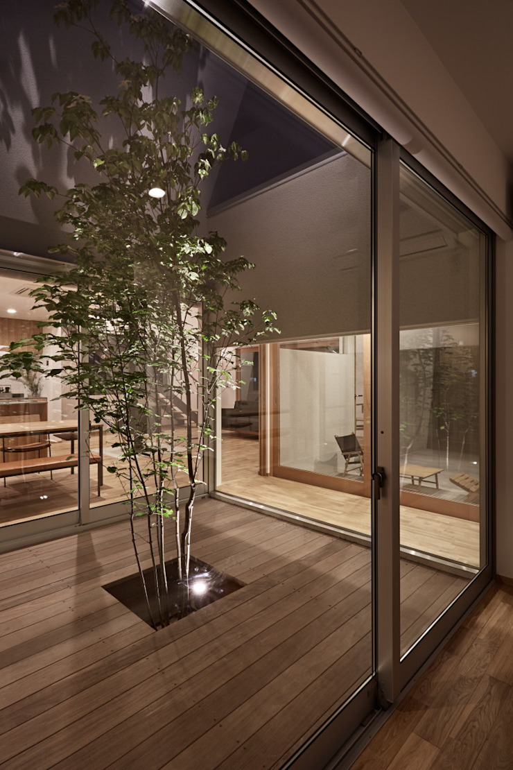 toki Architect design office Modern Garden