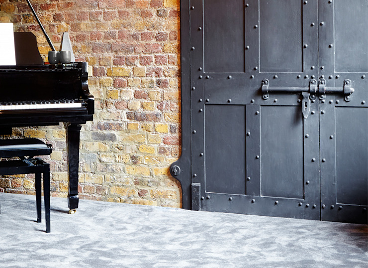 STUDY Industrial style study/office by Landmass London Industrial