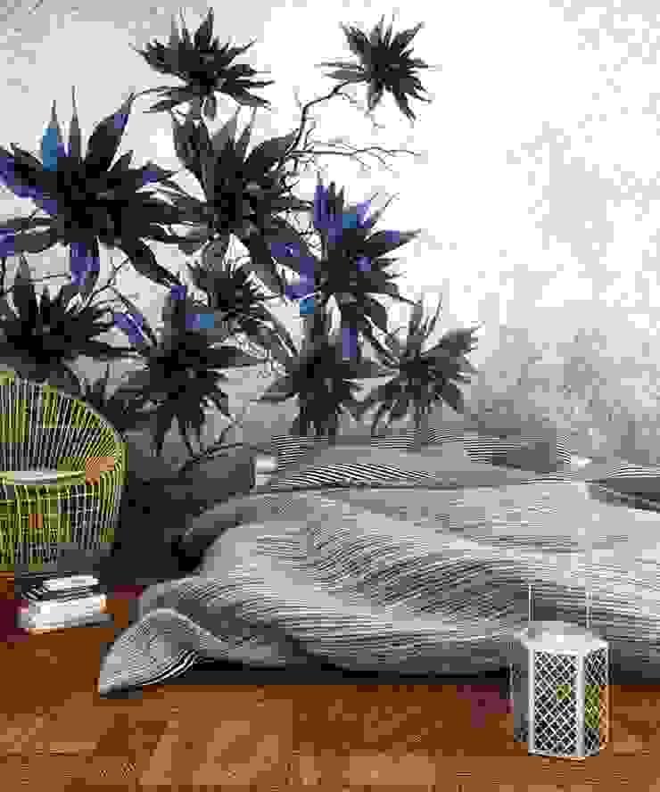 Architetto Luigia Pace BedroomAccessories & decoration Paper Blue