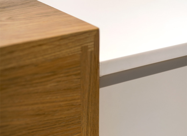 WORKTOP DETAILS by Landmass London Scandinavian