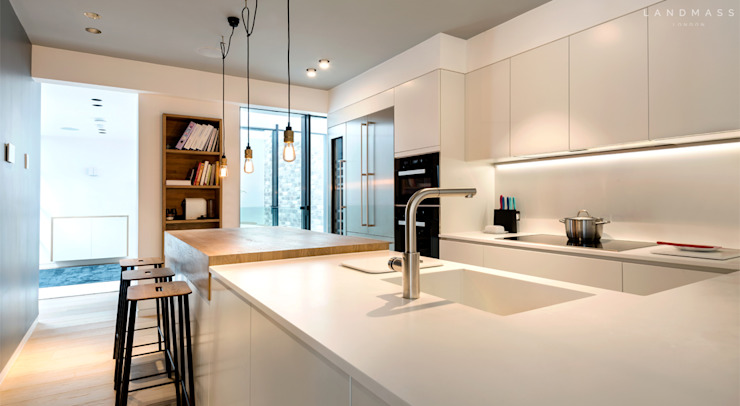 KITCHEN by Landmass London Scandinavian