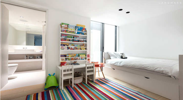 KIDS BEDROOM Scandinavian style bedroom by Landmass London Scandinavian
