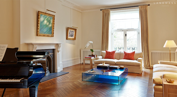 RECEPTION ROOM Landmass London Classic style living room