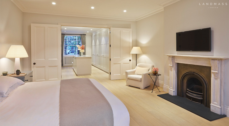 MASTER BEDROOM Landmass London Classic style bedroom