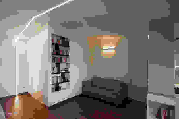 Casa sul lungomare Soggiorno moderno di Luca Mancini | Architetto Moderno