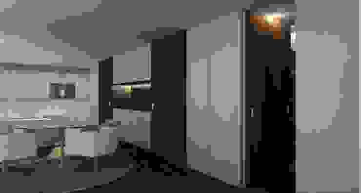 Habitação FR Salas de estar modernas por ARTEQUITECTOS Moderno
