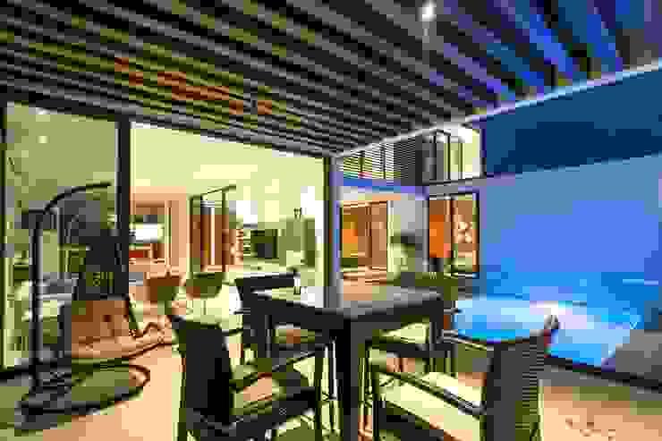 Terraza apergolada Yucatan Green Design Terrazas