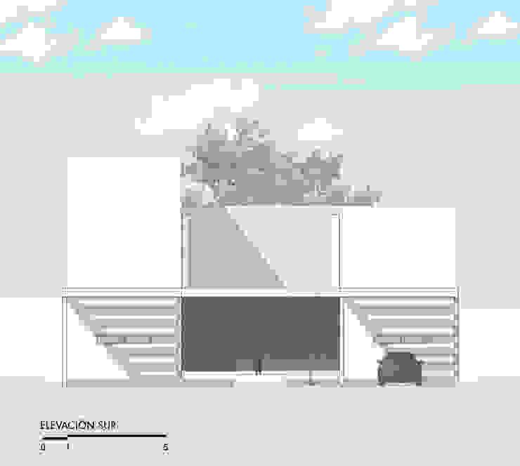 Fachada sur Yucatan Green Design
