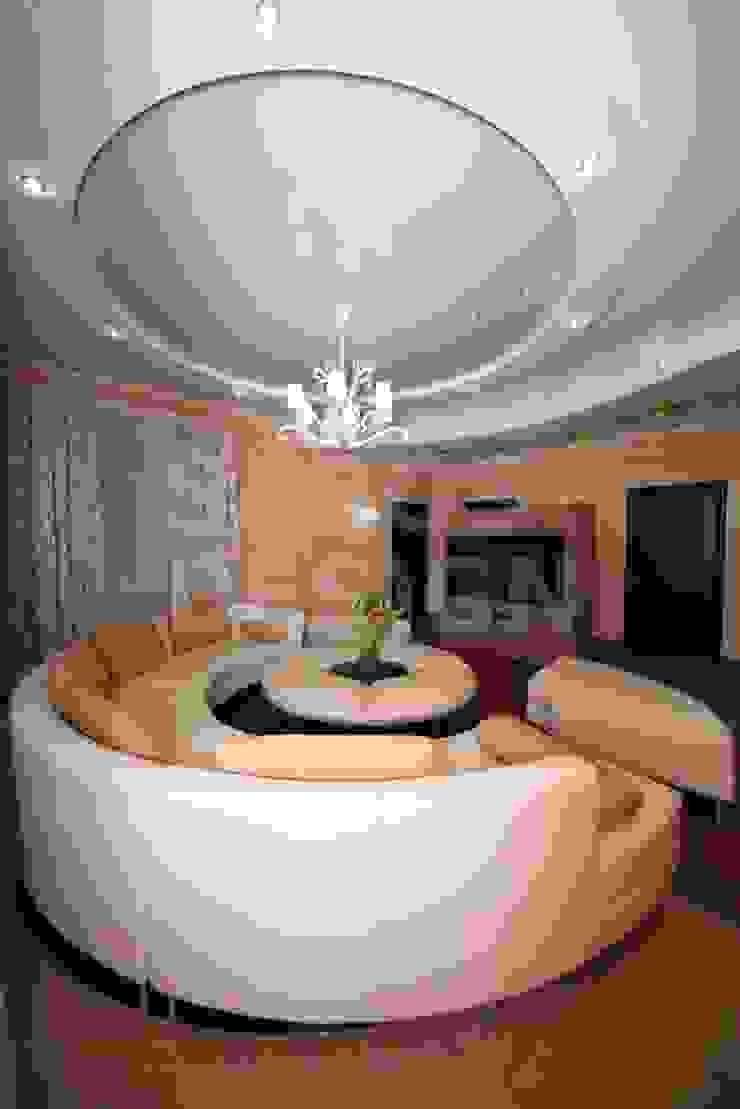 PERFECT & AFFORDABLE LDA Salones de estilo moderno Plástico Blanco
