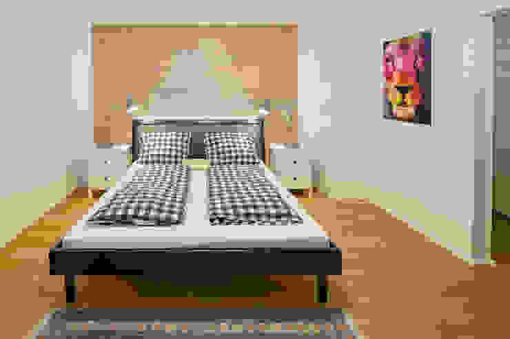 Kathameno Interior Design e.U. Kamar Tidur Gaya Skandinavia