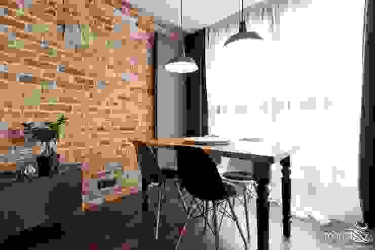 Phòng ăn phong cách hiện đại bởi MANGO STUDIO Hiện đại Gạch