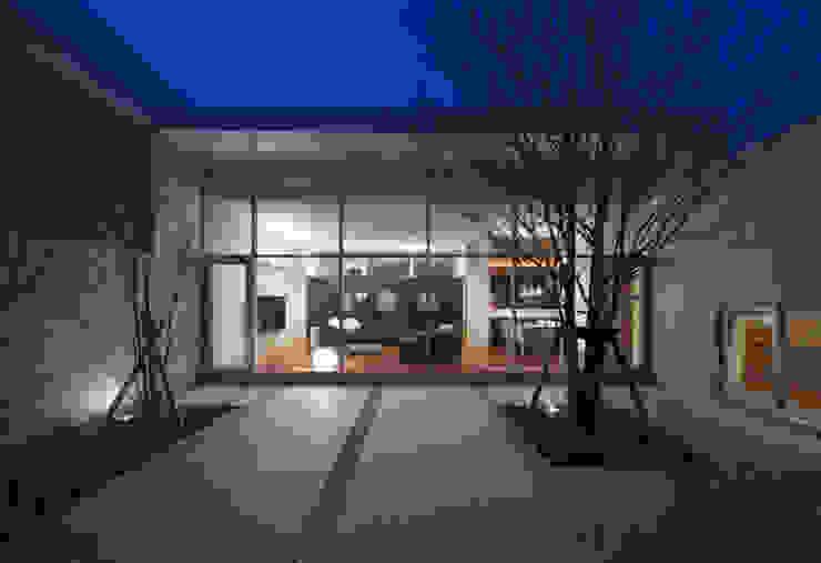 庭 Atelier Square モダンな庭 コンクリート