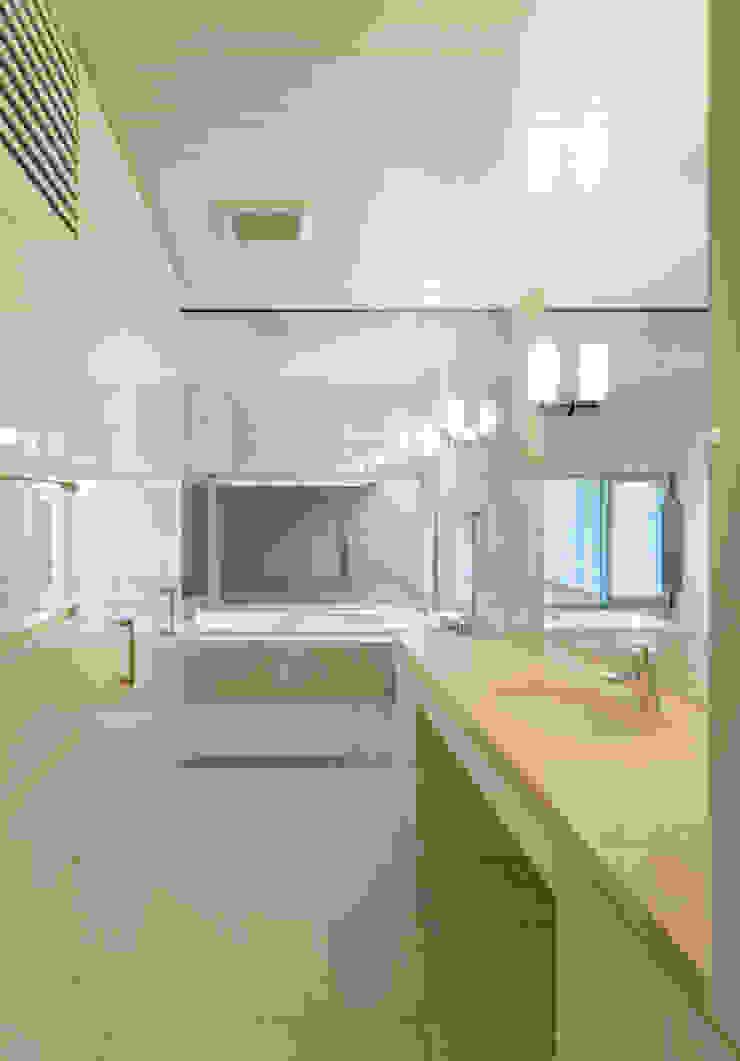 洗面 Atelier Square モダンスタイルの お風呂
