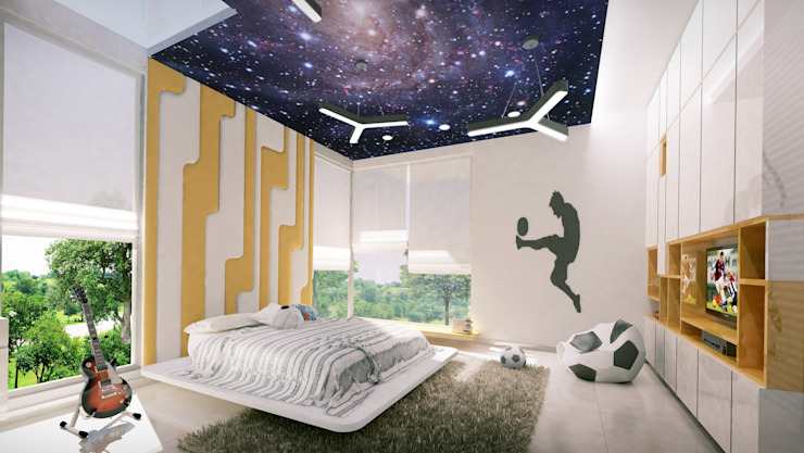 Modern Bedroom by Space Craft Associates Modern