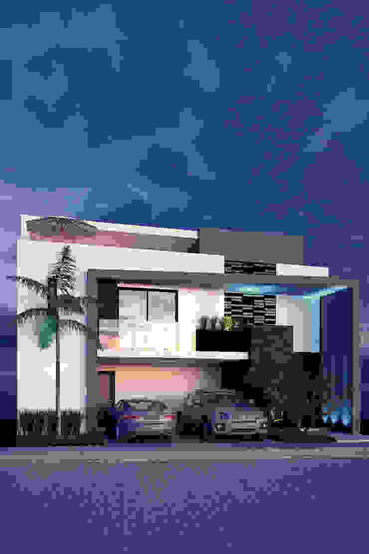 Lomas de Angelopolis, Borja Arquitectos Casas modernas de Borja Arquitectos Moderno