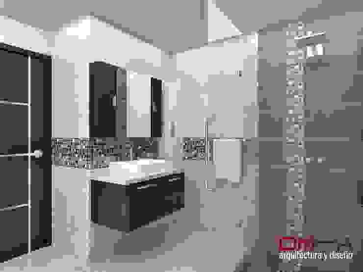 om-a arquitectura y diseño Modern bathroom