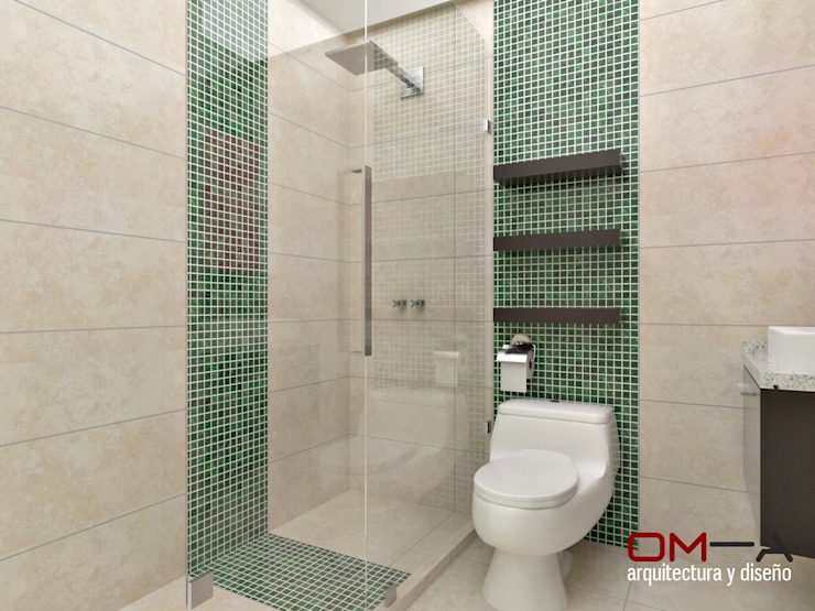 Bathroom by om-a arquitectura y diseño,