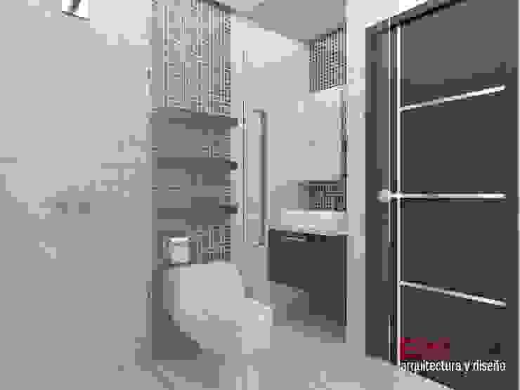 Nowoczesna łazienka od om-a arquitectura y diseño Nowoczesny