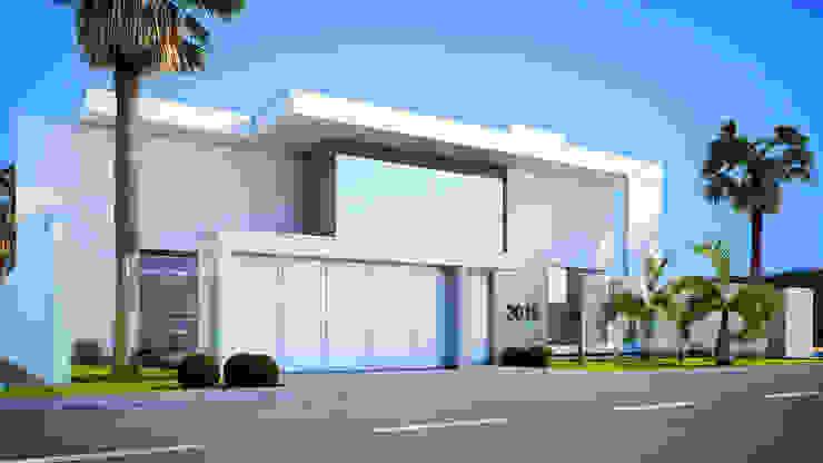 Casas de estilo minimalista de Arquiteto Elias Mota Minimalista Cerámico