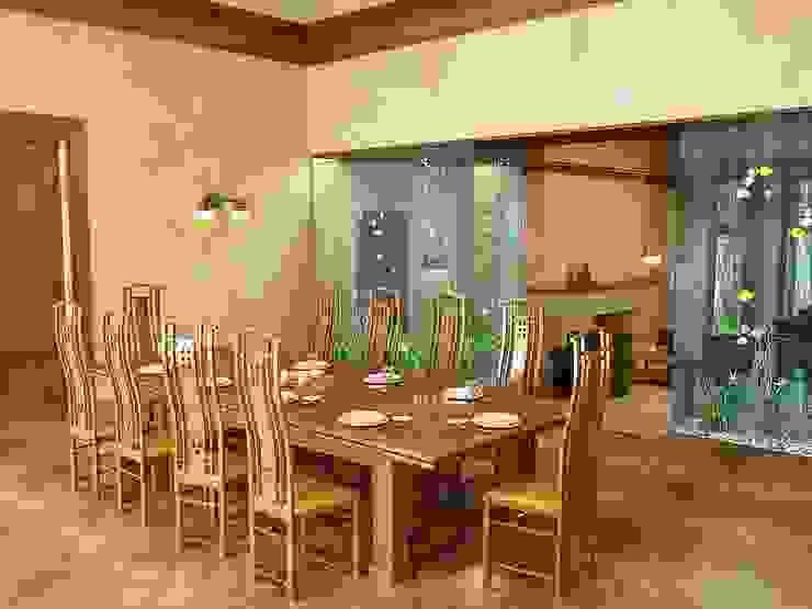 Интерьер в стиле Райта Кухня в классическом стиле от Design studio of Stanislav Orekhov. ARCHITECTURE / INTERIOR DESIGN / VISUALIZATION. Классический