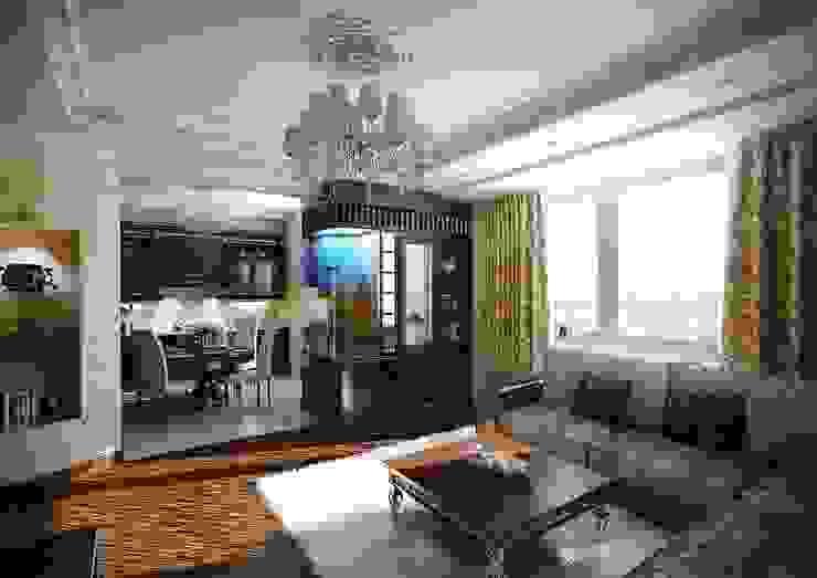 Квартира в ар-деко стиле Гостиная в классическом стиле от Design studio of Stanislav Orekhov. ARCHITECTURE / INTERIOR DESIGN / VISUALIZATION. Классический