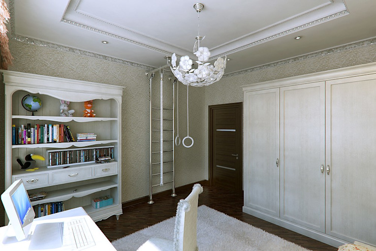 Квартира в ар-деко стиле Детская комнатa в классическом стиле от Design studio of Stanislav Orekhov. ARCHITECTURE / INTERIOR DESIGN / VISUALIZATION. Классический