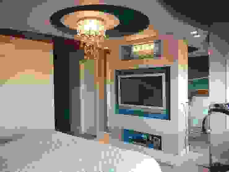 Metamorfose Arquitetura e Urbanismo Modern style bedroom